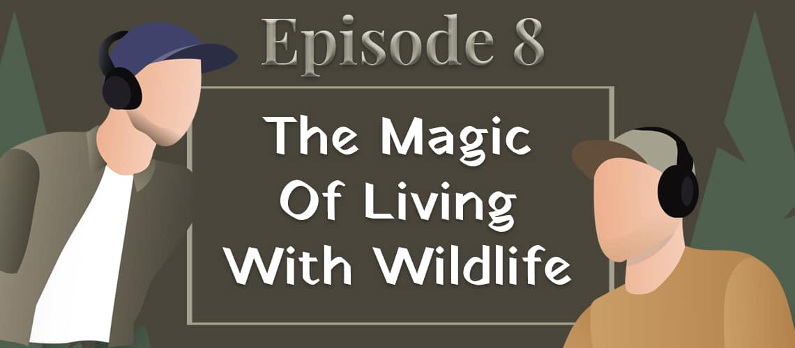 Episode 8 - the magic of living with wildlife